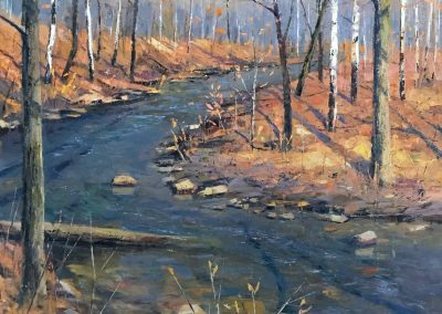 Highbanks Park Creek 36x36