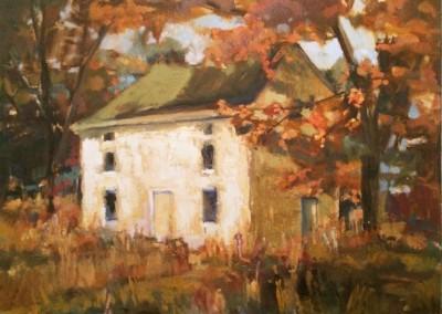 Farm House in Fall