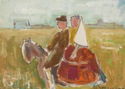 Couple on Horseback (1953)