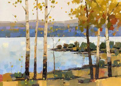 Lake Birches 30x40